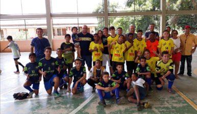 Vereador participa de Torneio de Futsal Sub-13