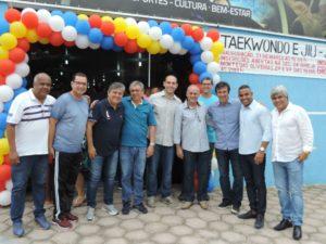 Vereadores participam da inauguração do Centro de Formação do Cidadão
