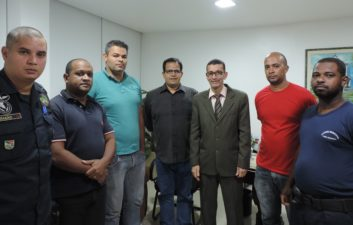 Nilcélio Sá reúne-se com guardas civis para discutir criação do Código de Conduta da GCM
