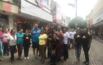 Vereador Luiz Alberto participa da Caminhada de oração Projeto Desperta Débora