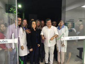 Entrega da UBS humaniza atendimento médico dos Pilões