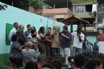 Vereadores prestigiam inauguração da Escola Municipal Jovina de Figueiredo Salles
