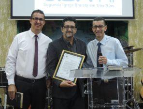 Vereadores homenageiam II Igreja Batista de Três Rios