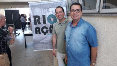 Luiz Alberto Barbosa e Fabiano Oliveira participam do Rio em Ação