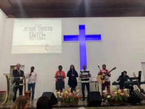 Vereadores Luiz Alberto e Isaias de Oliveira participam de Culto da Rádio Melodia