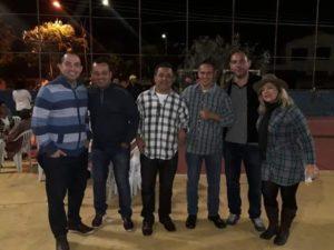 Vereadores participam de Festa Julina no Purys