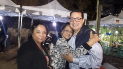 Vereador Luiz Alberto participa da festa de Nossa Senhora Rosa Mística