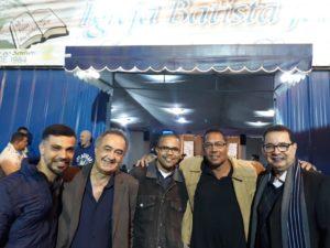 Vereador Luiz Alberto participa de festa na Igreja Batista Jeruel
