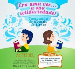 CAC Três Rios lança a campanha Era uma vez… a sua solidariedade!