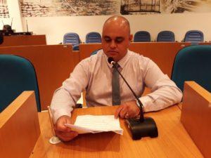 Vereador Jonas Dico solicita informações sobre obras e projetos não concluídos