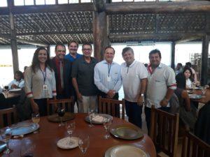 Vereador Luiz Alberto participa da visita técnica à Univértix