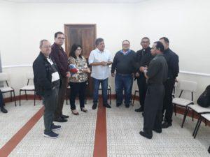 Vereador Luiz Alberto participa com encontro com líderes católicos