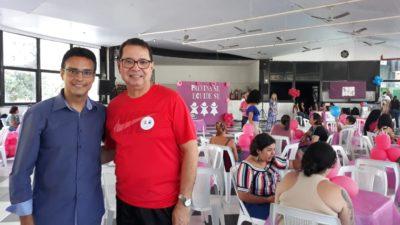 Vereadores participam de evento de conscientização feminina