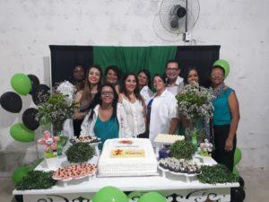 Vereador Luiz Alberto Barbosa participa de formatura do curso para cuidador de idosos