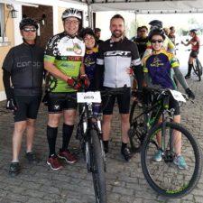 Vereador Luiz Alberto Barbosa participa de Passeio Ciclístico