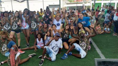 Vereadores participam de festividade na Boa União