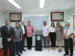 Vereadores na inauguração das novas instalações da Vara do Trabalho de Três Rios