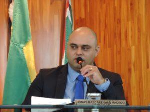 Jonas Dico solicita mais atenção para condução das crianças nos veículos da Secretaria de Saúde