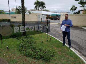 Vereador Isaías de Oliveira solicita manutenção do sinal digital da Rede Record de Televisão