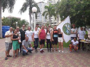 Vereador Luiz Alberto Barbosa participa de plantio de mudas em Três Rios