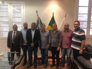 Vereadores participam de encontro com equipe do Governo do Estado