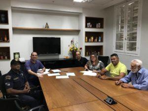 Fabiano Oliveira participa de reunião para debater Estatuto da Guarda Civil Municipal