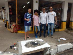 Vereador Juarez da Saúde participa de Projeto Bueiro bom é bueiro limpo