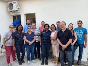 Guezo participa da inauguração do Posto de Controle da Guarda Civil Municipal
