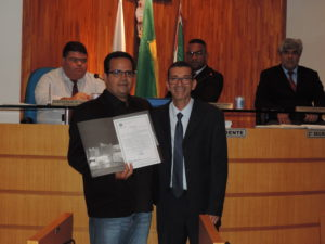 Presidente do Sindicato dos Servidores Públicos de Três Rios é homenageado na Câmara de Vereadores