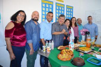 Rogério Camarinho participa de encontro na Coordenadoria Antidrogas