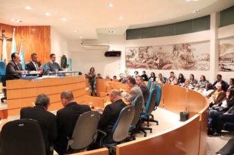 Equipe do IPT e colaboradores do 35º Encontro de Casais com Cristo são homenageados na Câmara de Vereadores de Três Rios