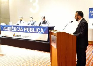Vereador Fabiano Batista participa de audiência pública realizada pela ANTT