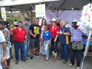 Vereadores participam de evento beneficente na Ponte das Garças