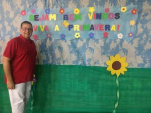 Vereador Luiz Alberto participa de Festa da Primavera no Mutirão