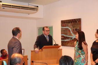 Vereador Fabiano Oliveira homenageia Casas Franklin pelos 60 anos de atividade