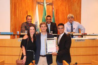 Juarez da Saúde concede Título de Amigo de Três Rios a empresário Sauro Sola