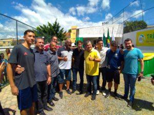 Vereadores participam do lançamento do Projeto Gol do Brasil