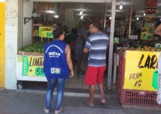 Procon Três Rios cadastra preço de itens da cesta básica e hortifrutti
