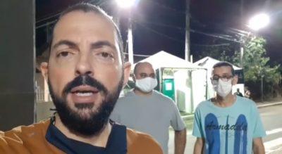 Vereadores fiscalizam funcionamento da barreira sanitária e descobrem irregularidade