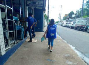 Equipe do Procon Três Rios fiscaliza cumprimento de normas do Código de Defesa do Consumidor no Centro da cidade