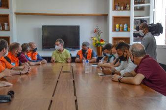 Professor Erquinho acompanha ações de atendimento às famílias afetadas pelas chuvas