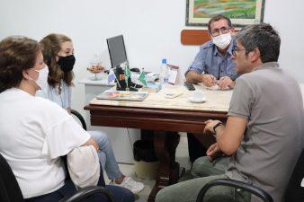 Senador Carlos Francisco Portinho visita Câmara de Vereadores de Três Rios