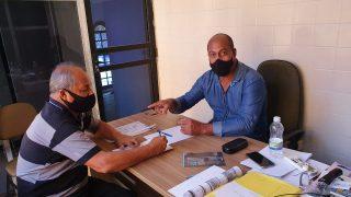 Vereador Telmo Cardoso conversa com secretário de Obras para conhecer cronograma do município