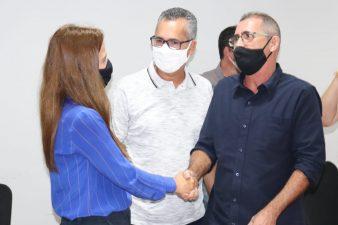 Professor Erquinho acompanha visita e o envio de R$ 500 mil para ser investido na saúde básica do município