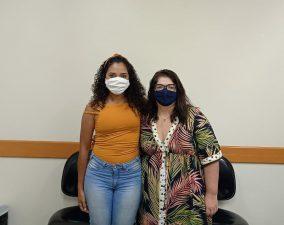 Vereadora Ana Clara Araújo reúne-se juíza para debater sobre os impactos da pandemia