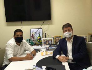 Professor Flávio reúne-se com o secretário estadual de Turismo