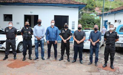 Vereadores reúnem-se com comandante do 38º Batalhão de Polícia Militar