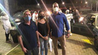 Vereadores acompanham vacinação contra Covid
