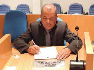 Vereador Telmo Cardoso solicita informações sobre Cartão Recomeçar