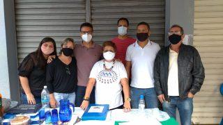 Vereadores acompanham aclamação da Associação de Moradores do Vila Nova
